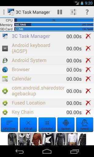 3C Task Manager  screenshots 2