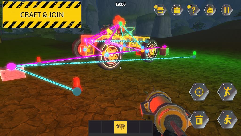 Evercraft Mechanic: Online Sandbox from Scrap poster 0
