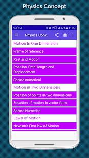 Physics Concepts (Concept of Physics) App