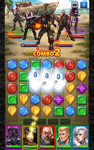 Puzzle Combat: Match-3 RPG android2mod screenshots 16