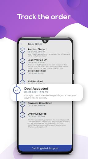 Jinglebid - Online Shopping App screenshots 4