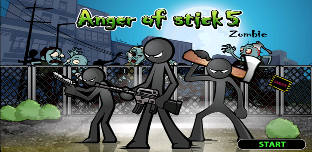 Anger of stick 5 : zombie poster 0