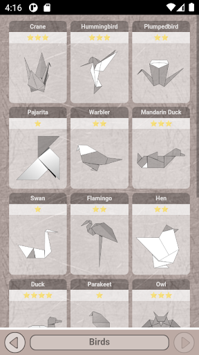 Origami Diagram screenshots 2