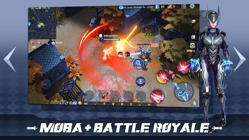 Survival Heroes - MOBA Battle Royale APK MOD – ressources Illimitées (Astuce) screenshots hack proof 2