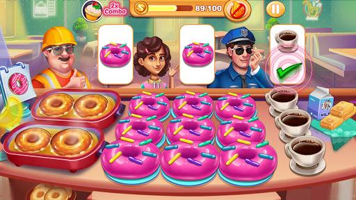Code Triche Cooking Shop : Chef Restaurant Cooking Games 2020 (Astuce) APK MOD screenshots 2