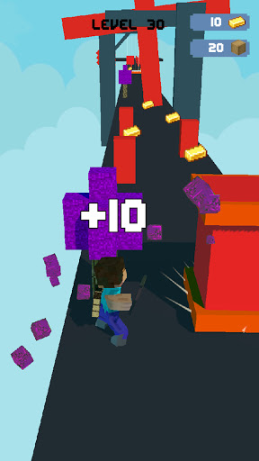 Craft Runner - Miner Rush: Building and Crafting modavailable screenshots 10