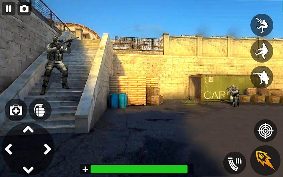FPS Shooting Games 2021: Encounter Secret Mission