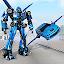 Flying Car Transform Robot Shooting Simulator
