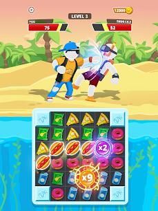 Match Hit Mod Apk- Puzzle Fighter (God Mode) 10