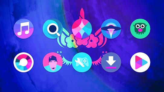 Unicorn Roundies – Free Launcher Theme (MOD, Paid) v5.8 3