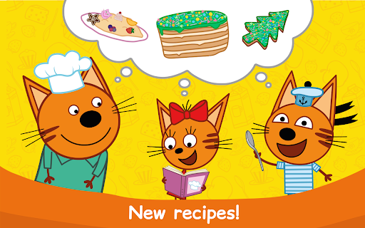 Kid-E-Cats: Cooking for Kids with Three Kittens!  screenshots 16