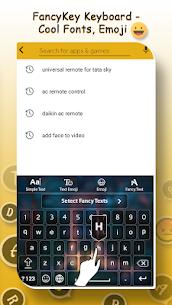 Fancy Fonts & Emoji Keyboard – Cool Fonts Style 7.0 MOD Apk Download 3