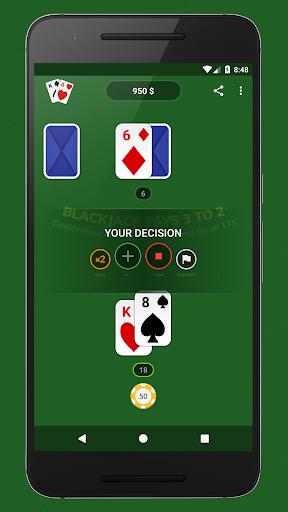 Blackjack - Free & Offline 1.7.1 Screenshots 1