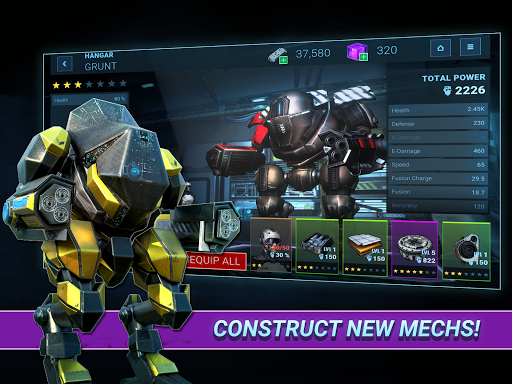 Mech Tactics: Fusion Guards 1.1.3 screenshots 10