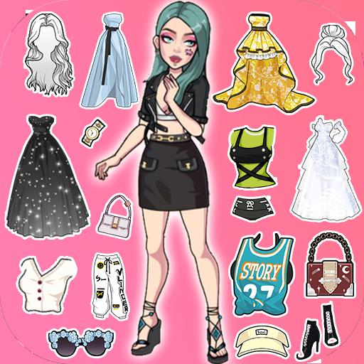 Vlinder Story:Dress up Games, Fashion Dolls