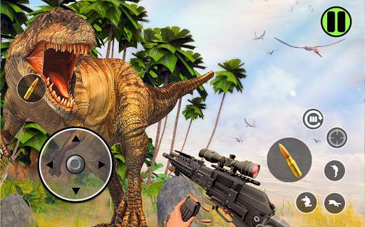 Best Dinosaur Shooting Games: Dino Hunt Shelter screenshots 2