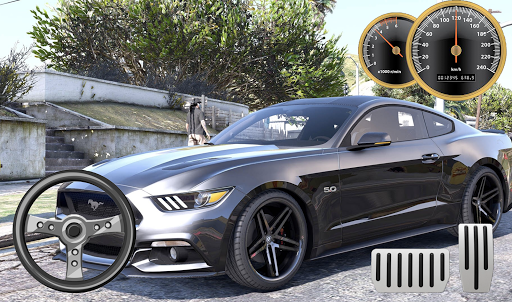Drive Ford Mustang City Parking apklade screenshots 2