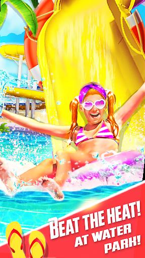 Water Slide Summer Splash - Water Park Simulator apkmr screenshots 1