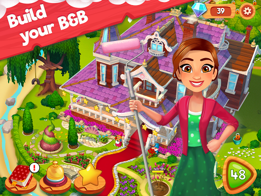 Delicious B&B: Match 3 game & Interactive story 1.15.6 screenshots 8