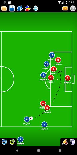 Coach Tactic Board: Soccer 1.3 Screenshots 3