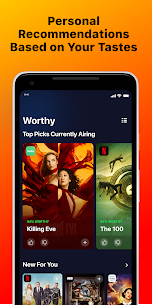 Watchworthy – Personalized TV Recommendations Apk Download New 2021 3