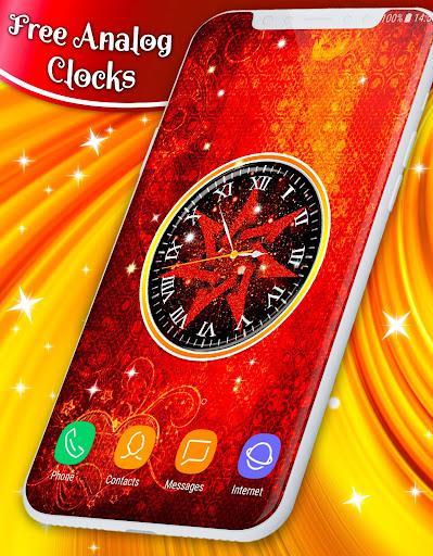 Live Wallpaper Clock ❤️ Free HD Wallpapers  screenshots 1