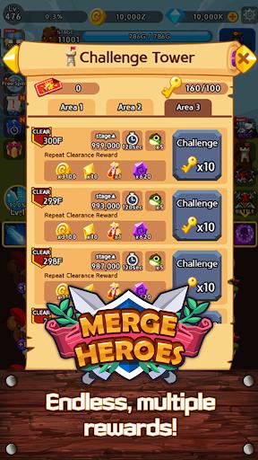 Merge Heroes Frontier: Casual RPG Online 3.3.0 screenshots 20
