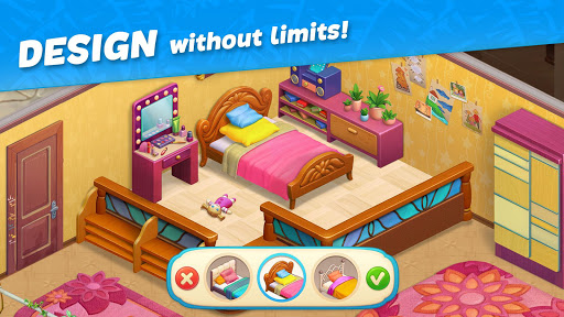 Hawaii Match-3 Mania Home Design & Matching Puzzle apkpoly screenshots 9