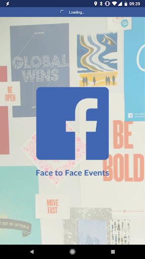 Facebook Face to Face Events 1.5 Screenshots 1