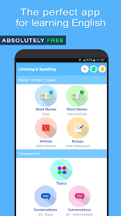 English Listening and Speaking Screenshot