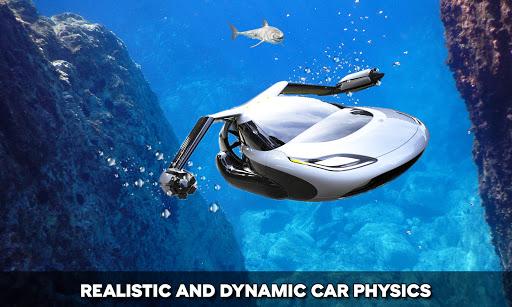 Floating Underwater Car Simulator  screenshots 4