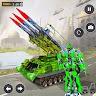 US Army Robot Missile War Attack:Robot war game app apk icon