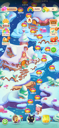 Jellipop Match-Decorate your dream islanduff01 8.1.0.1 Screenshots 6