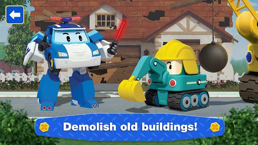 Robocar Poli: Builder! Games for Boys and Girls!  screenshots 3