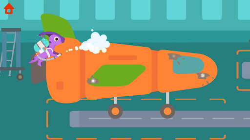 Dinosaur Airport - Flight simulator Games for kids  screenshots 3