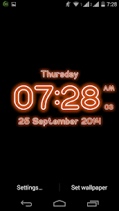 Neon Digital Clock Live For Pc – Free Download On Windows 10, 8, 7 5