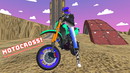 Motorcycle Infinity Racing Simulation 2.2 screenshots 1