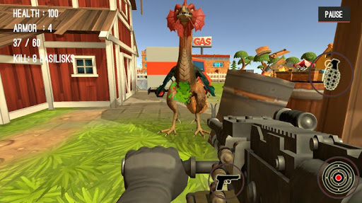 Monster Killing City Shooting II  screenshots 23