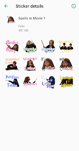 WAStickers for HarryPotter Screenshot