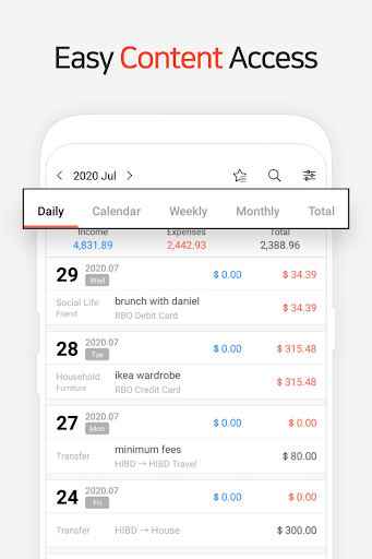 Money Manager Expense & Budget screenshots 2