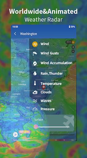 Weather Forecast - Live Weather Alert & Widget 1.13 Screenshots 5