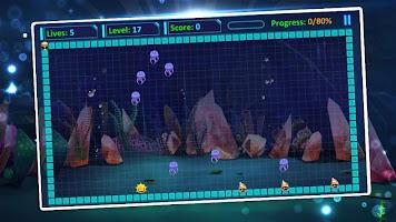 Mr Super Fish: Star Hero Fill Build Blocks