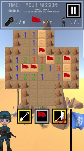 Trooper Sam - A Minesweeper Adventure apkpoly screenshots 17