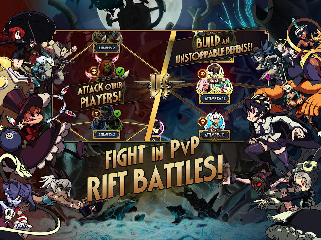 Skullgirls: Fighting RPG  poster 16