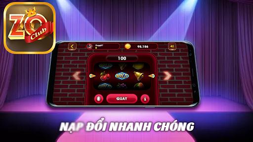 Zo Club - Game Slot No Hu Danh Bai Doi Thuong 2.0 screenshots 3