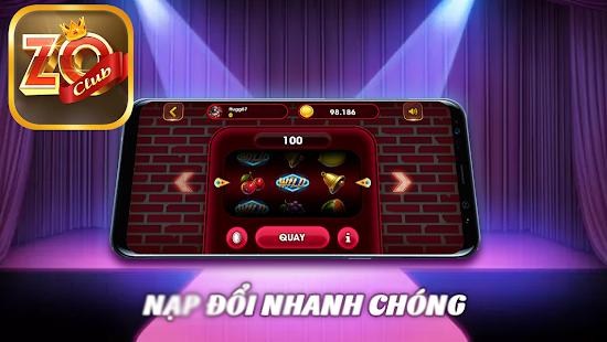 Zo Club - Game Slot No Hu Danh Bai Doi Thuong screenshots 3