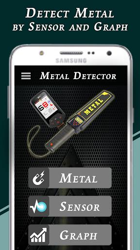 Genuine Metal Detector : Real Metal Finder App  screenshots 1
