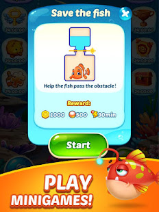 Fish Blast 3D – Fishing & Aquarium Match Game Free