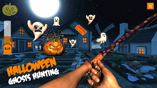 Ghosts & Witches Hunting to Save Halloween Pumpkin Hack Online [Android & iOS] 5