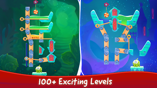 Om Nom Pin Puzzle android2mod screenshots 11